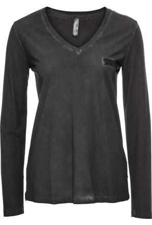 Bpc Bonprix Collection - Kahverengi Kısa Kollu T-Shirt