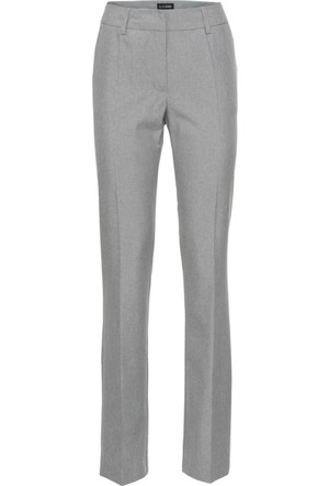 Bonprix Kadın Gümüş Rengi Kumaş Pantolon