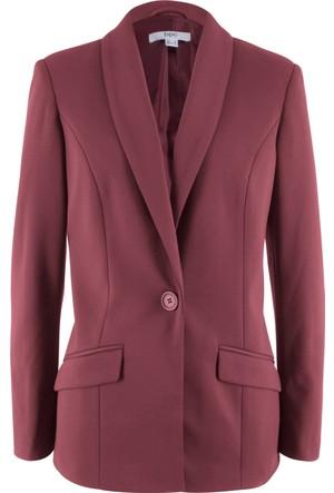 Bonprix Kadın Kırmızı Siyah Blazer Ceket
