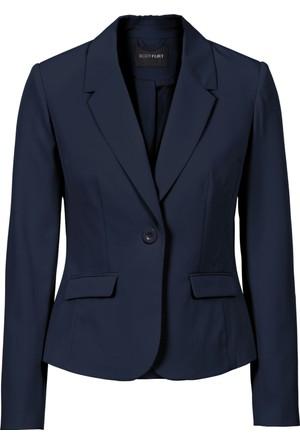 Bonprix Kadın Mavi Blazer Ceket