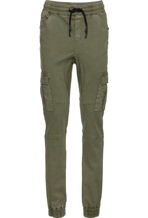 Bonprix Kadın Yeşil Kargo Pantolon