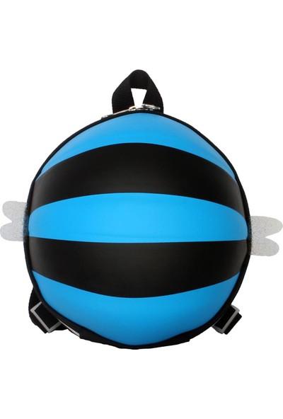 Tagger Bal Arısı Desenli Günlük Çocuk Sırt Çantası Mavi