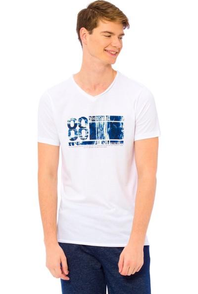 LC Waikiki Erkek Çocuk V Yaka T-Shirt
