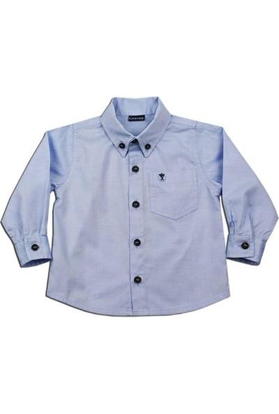 O Piti Piti Oxford Gömlek Açık Mavi