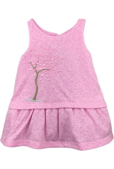 Karamela İlkbahar Elbise Pembe