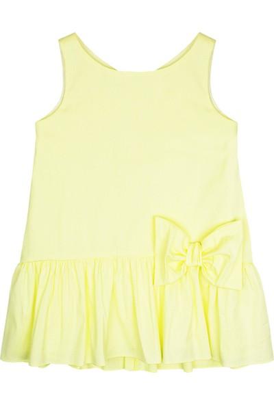 Karamela Hayal Elbise Sarı