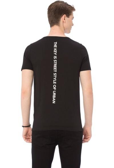 LC Waikiki Genç Erkek Bisiklet Yaka T-Shirt