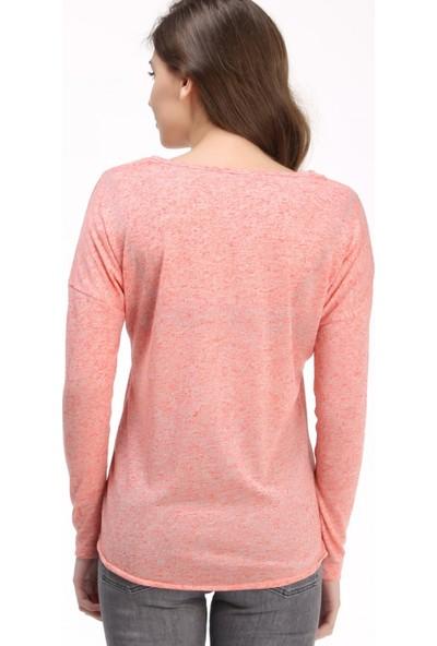 Loft Kadın T-Shirt Narçiçeği 2013904
