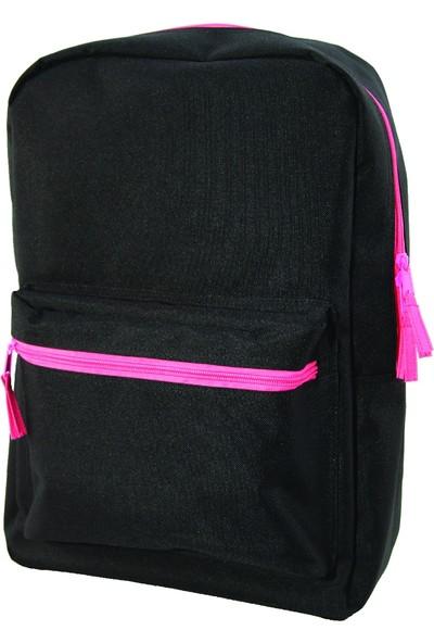 Trendix Genç Sırt Çantası Siyah - Pembe U1621-Si-Pe