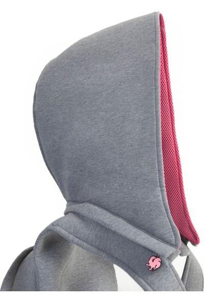 Morikukko Basic Grey Fuchsia Sırt Çantası