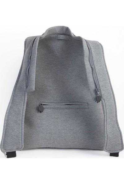 Morikukko Basic Grey Grey Sırt Çantası