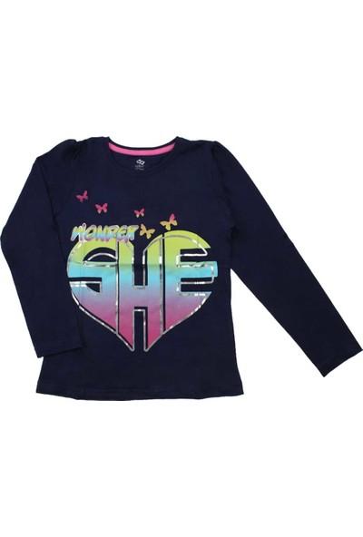 Modakids Wonder Kids Kız Çocuk Uzun Kol Tshirt 010-2501-012