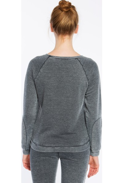 Bexy Prato Koyu Gri Süpersoft Sweatshirt