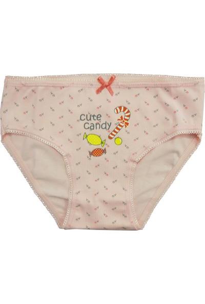 Özkan 2'Li Paket Kız Çocuk Külot 40976-1 Karışık
