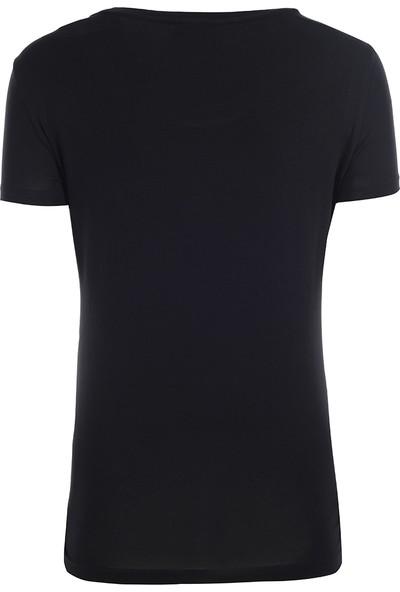 EA7 Kadın T-Shirt 6Ytt25Tj12Z