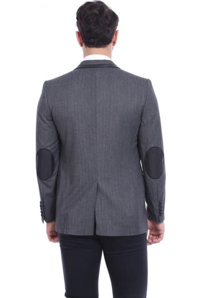 Wss Wessi 2 Düğme Velvet Ceket