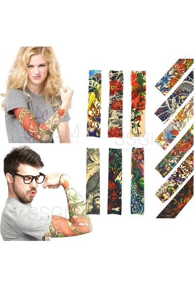 Fonnava Tattoo Sleeves Giyilebilir Dövme (2 Adet)