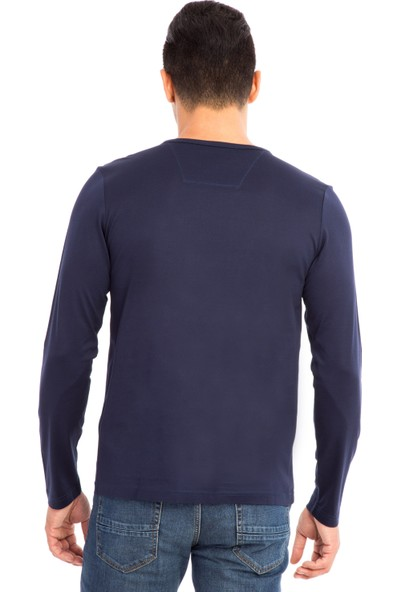 Kiğılı Bisiklet Yaka Regular Fit Sweatshirt