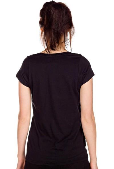 Volcom Matt French Face Ss Blk Kadın T-Shirt