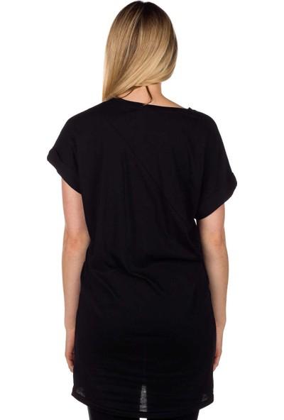 Volcom Malika S Ss Dress Blk Kadın Elbise