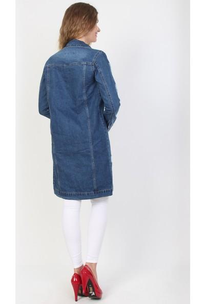 E-Giyimsepeti Moda Bayan Kot Tunik