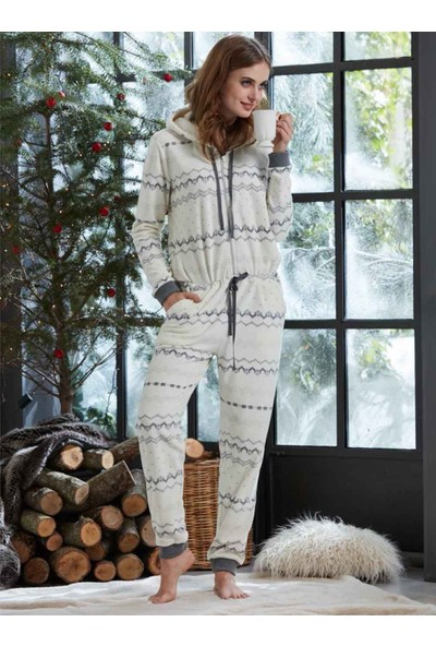 Penye Mood 8250 Kışlık Kadın Tulum