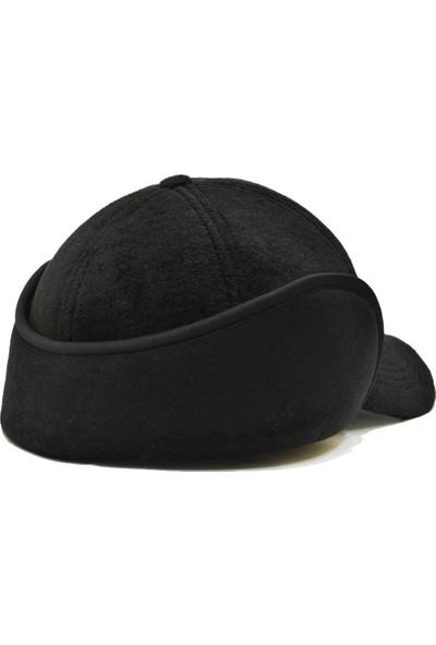 Pozze Polar Kulaklı Avcı Kep - Kışlık Erkek Şapka