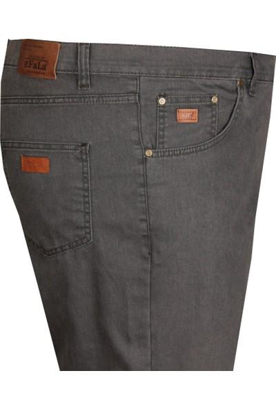 Fala Jeans Büyük Beden Kot Pantolon Antrasit