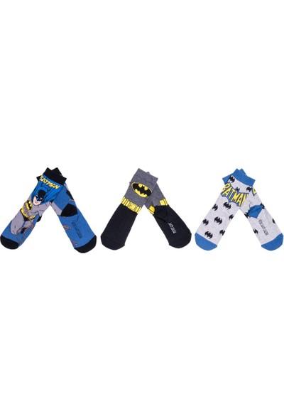 Batman BM12394 Çocuk 3'lü Soket Çorap
