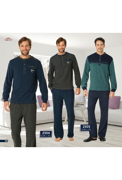 Mecit Erkek Pijama Takımı