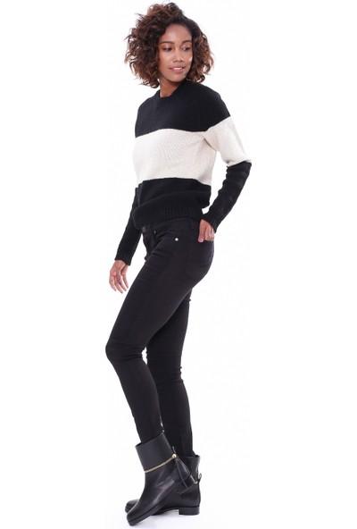 Helmut Lang Kadın Jean Pantolon Siyah