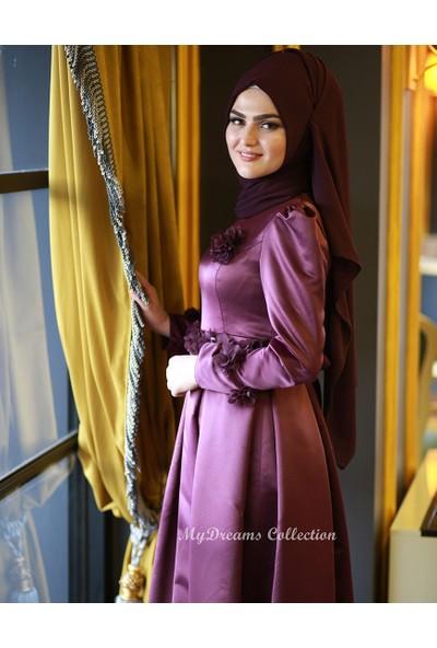 Dreams Collection Prenses Abiye Mor