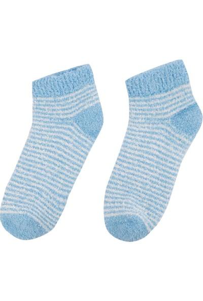 DeFacto Kadın Kısa Çorap Mavi