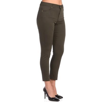c63f374f5772f Rmg Kadın Büyük Beden Bilekte Pantolon Haki Fiyatı