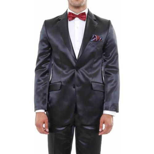 Wss Wessi İki Düğme Saten Damatlık Takım Elbise