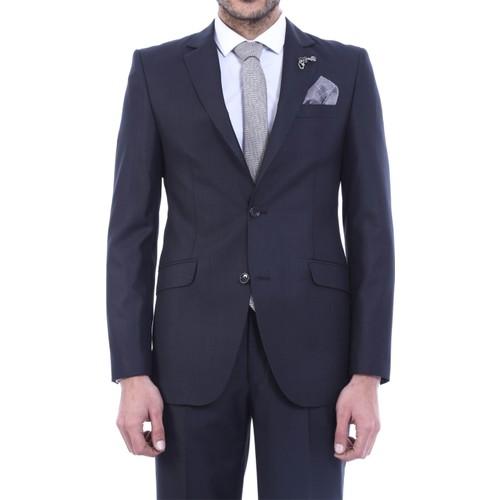 Wss Wessi İki Düğme Slimfit Poliviskon Takım Elbise