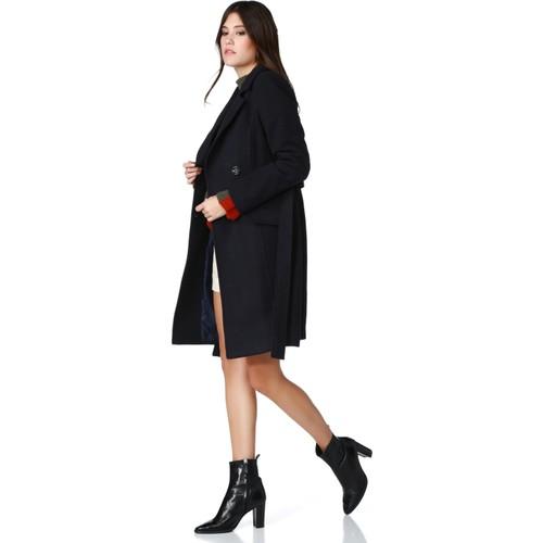 Dewberry Z6379 Kadın Palto