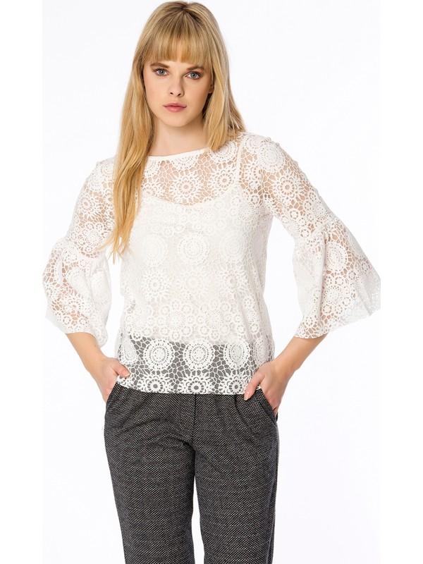 Bexy Segovia Mini Jakarlı Lacivert Pantolon