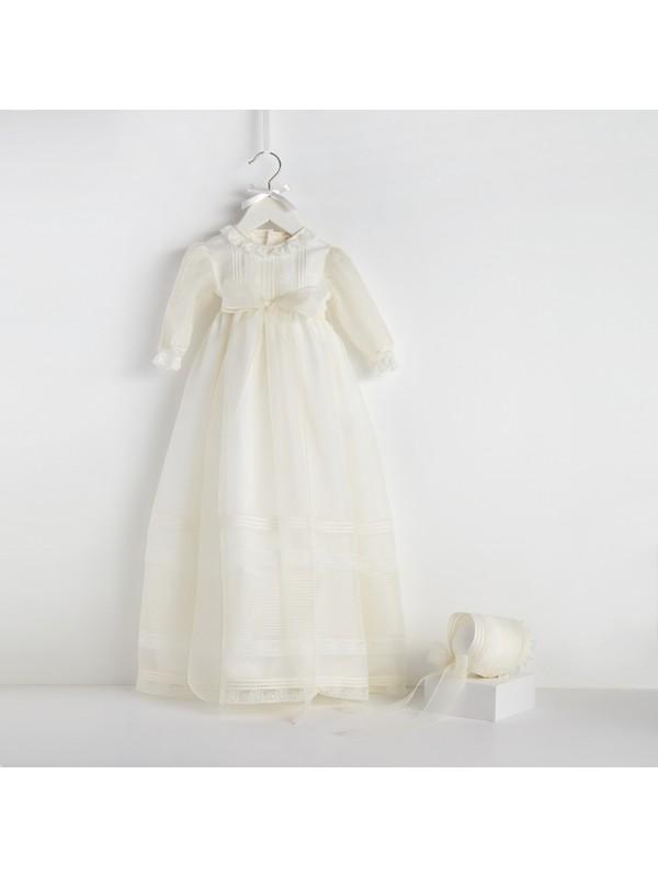 Bebecocon Kız Çocuk Mary Elbise Ekru