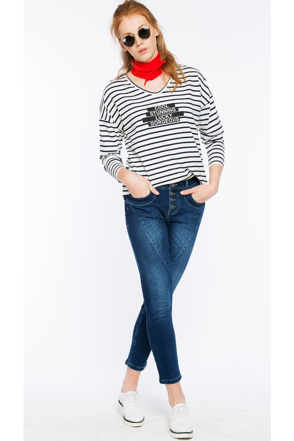 Bexy Women's Striped Top