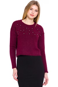 LC Waikiki Women's Sweater with Embroidered Details