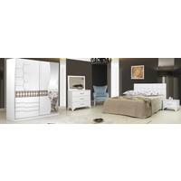 Zambak Yatak Odası Beyaz