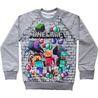 DobaKids Erkek Çocuk Minecraft Sweatshirt