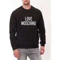 Moschino Mm106 Erkek Siyah Sweatshirt