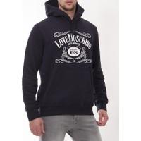 Moschino Mm108 Erkek Lacivert Sweatshirt