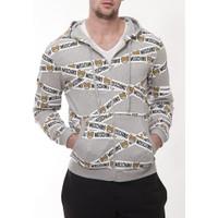 Moschino Mm114 Erkek Acık Gri Sweatshirt
