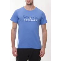Navigare Nm101 Erkek Mavi Tshirt