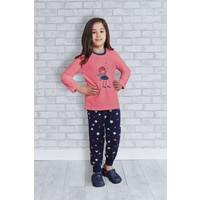 Rolypoly İnterlok Kız Çocuk Pijama Takımı