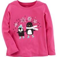 Carter's Küçük Kız Çocuk Sweatshirt 253H126