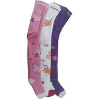 Lababy Kız Bebek - Çocuk Havlu Külotlu Çorap 3'lü Paket